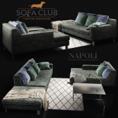 Sofa Cristal Sofa Club Green