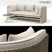 Coffee table and Sofa Esedra Ethimo
