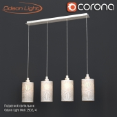 Pendant lamp Odeon Light Moli 2502/4