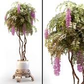 Decorative tree in vase