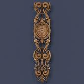 Decorative stucco molding