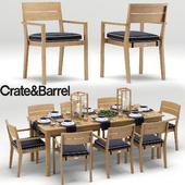 Regatta Dining Collection, Crate&Barrel