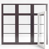 Wooden double-glazed windows