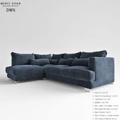 Modular sofa OWN
