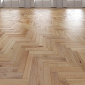 Oak Herringbones floor
