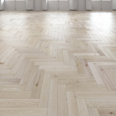 Oak Herringbones light floor