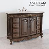 Provincial medium sink chest