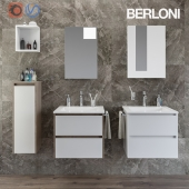 Two sets for the bathroom Berloni Form