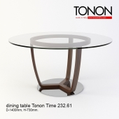 Dining table Tonon Time 232