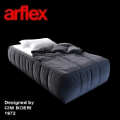 STRIPS bed designed by CINI BOERI 1972