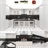 Nolte Elegance with appliances and accessories