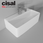 Sink Artceram Quadro 27 and Cisal Roadster
