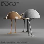 Настольный светильник DocoDuck коллекции Mushrooms от студии дизайна интерьера DOCOby
