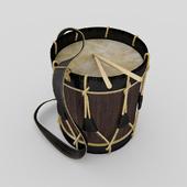 Ancient hussar drum