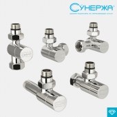 SUNERZHA shut-off and control valve (hexagonal)