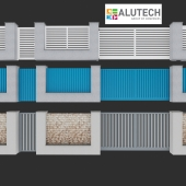 Gate alutech 2