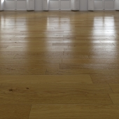 Oak Natural dark floor 4