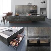Kitchen Zeyko Forum Stone Oceangreen