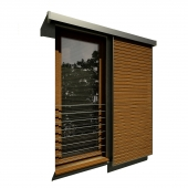 Window with shutters / Window with shutters