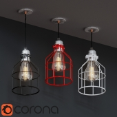 Wireframe lamp
