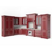 Corner classic kitchen. Alexander Tischler.