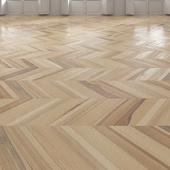 Ash Chevron light floor