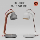 Decode Heavy Desk Light