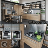 Roveretto kitchen by L'Ottocento