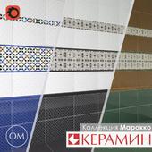Ceramic tile collection Morocco