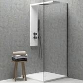 Contemporary shower cabin