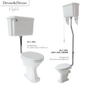 Oxford toilet bowl