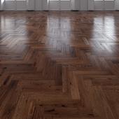 Oak Herringbones dark floor