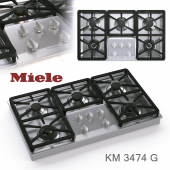 Gas cooktop Miele KM 3474 G