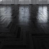 Oak Herringbones dark floor 4