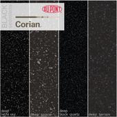 Dupont Corian Kitchen Countertops Black 2