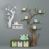 Decorative tree for children