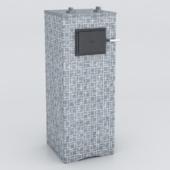 OM KASTOR KSIS 27 bath oven in talcum-Magnesite Pattern 11