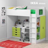 Детская кровать Икеа СТУВА / STUVA Ikea