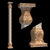 The column in Arabic style