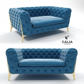 Кресло Belle Epoque 1014 chesterfield от Calia Italia