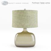 Bassett Mirror Portman Table Lamp