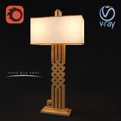 ALLAH Table Lamp Brass