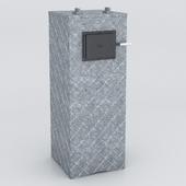 OM KASTOR KSIS 27 bath oven in talcum-Magnesite Pattern 28