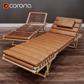 шезлонг Hermes Lounge Chair Pippa by Rdai