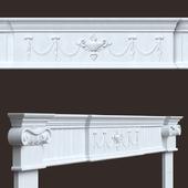 Настенная лепнина (капители, арка)