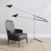 minotti armchair,Loop & Hook Standing  No. 308