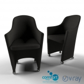 Maiden Castors chair by Comfort Furniture