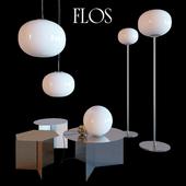 FLOS lamps + HAY tables