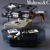 Molteni&C Coffee Tables Set 01