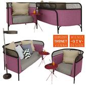 Gam Fratesi - Targa Sofa + Armchair